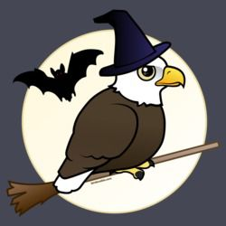 Halloween Bald Eagle