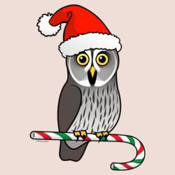 Great Grey Owl Santa