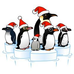 Christmas Penguin Party