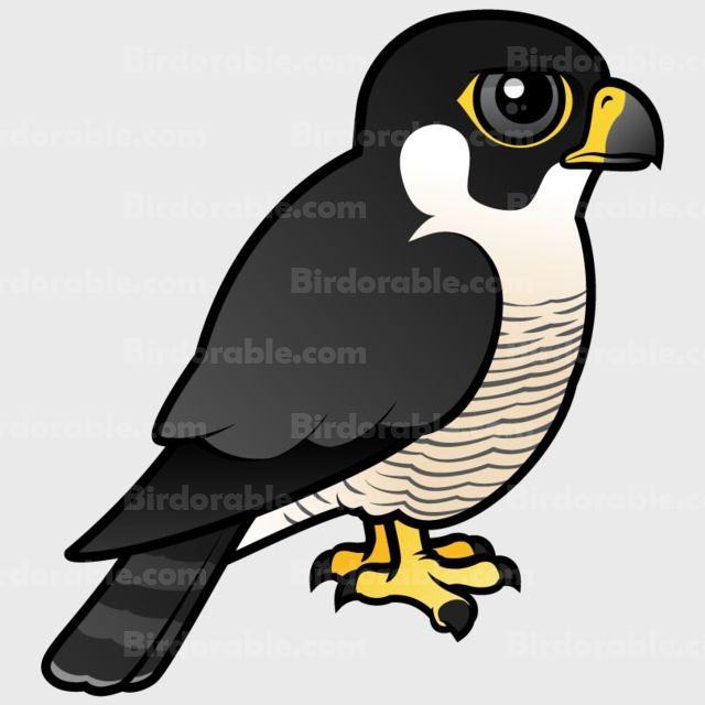gifts with cute cartoon birdorable peregrine falcon