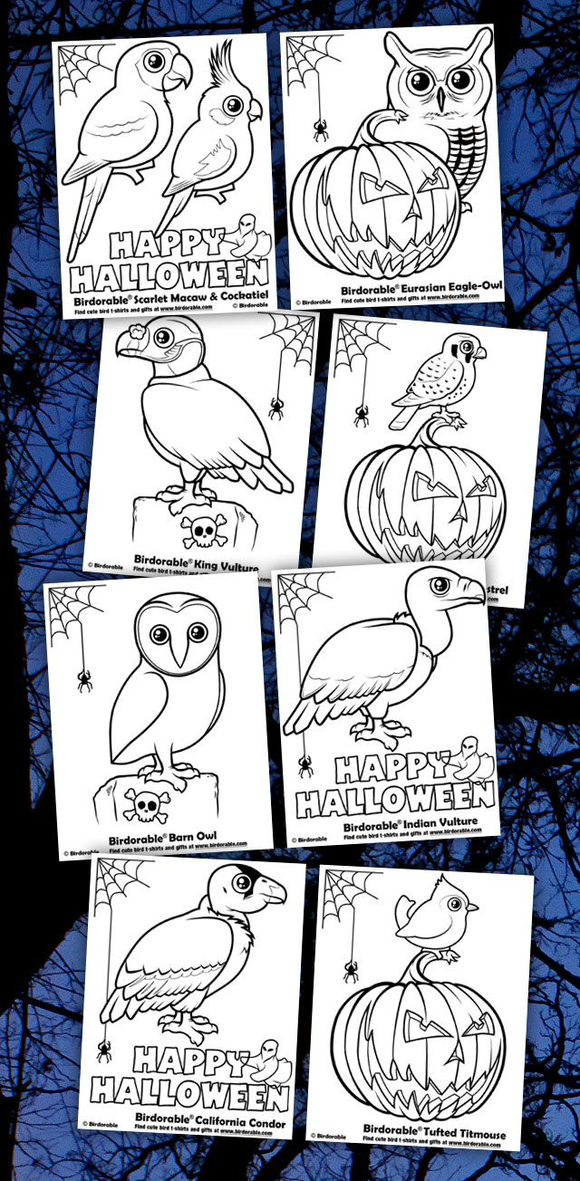 Birdorable Coloring Pages