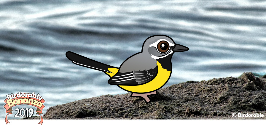 Birdorable Grey Wagtail