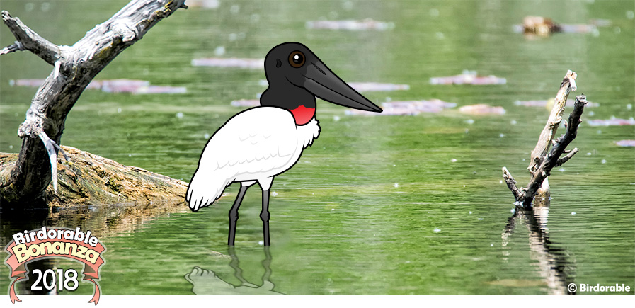 Cute Birdorable Jabiru