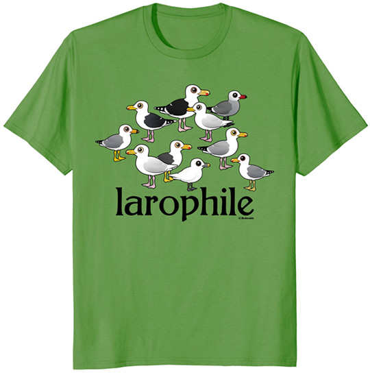Birdorable Larophile t-shirt on Amazon