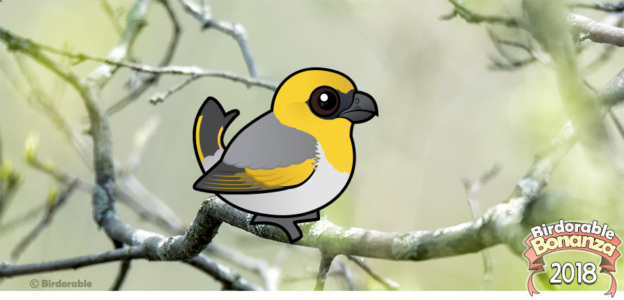 Cute Birdorable Palila