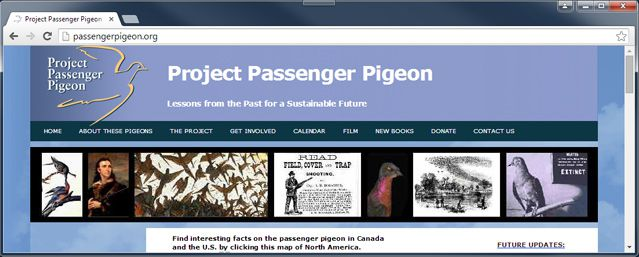 Project Passenger Pigeon