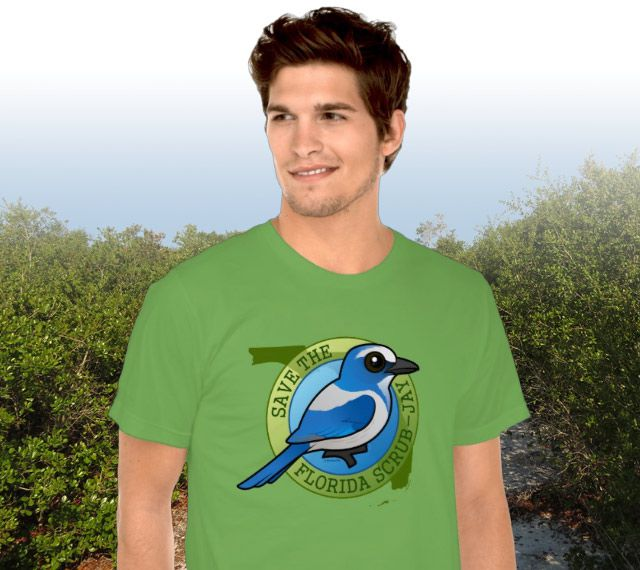 Save the Florida Scrub-Jay Men's T-Shirt