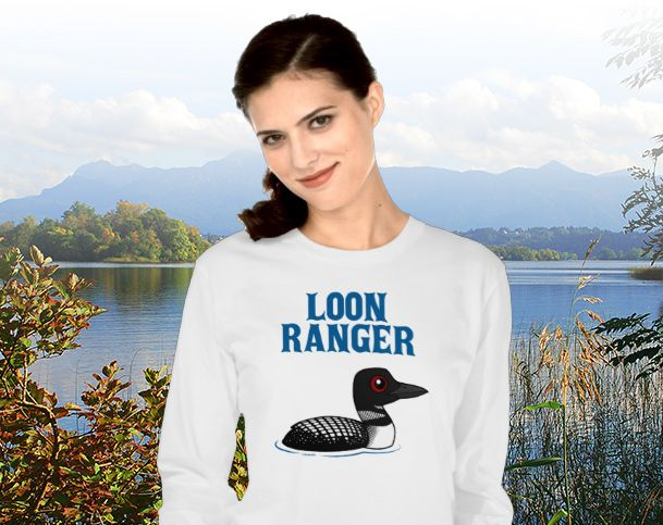 Birdorable Loon Ranger T-Shirt