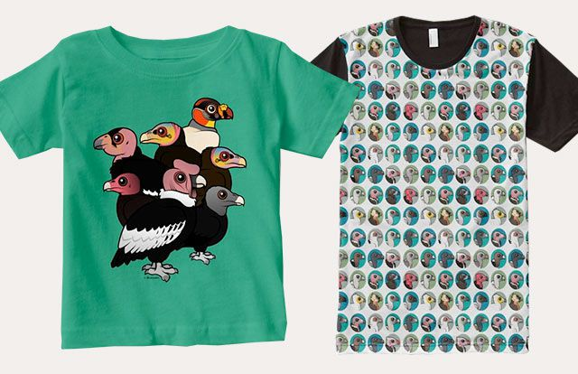 Birdorable Vulture T-Shirts